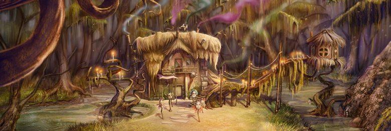 Casa della maga Circe by Rainbow CGI per Gladiatori di Roma